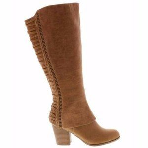 NEW Fergalicious Calf Women's Western Boot 8.5